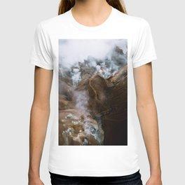 Kerlingarfjöll mountain range in Iceland - Aerial Landscape Photography T-shirt