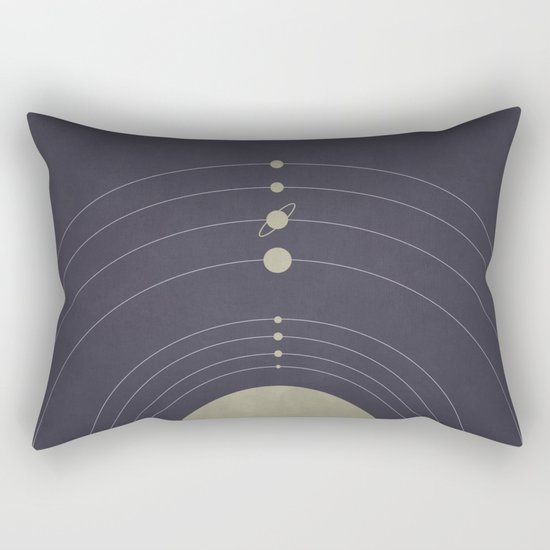You are here (Solar System) Rectangular Pillow