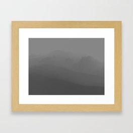 Mountainscape Framed Art Print