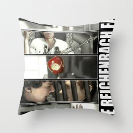 The Reichenbach Fall Throw Pillow