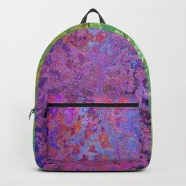 Vintage Bicolore Texture Backpack