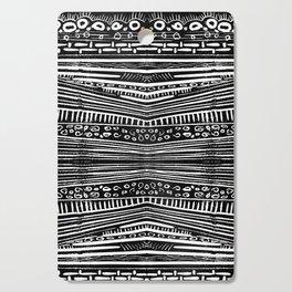 Linocut Tribal Pattern Cutting Board