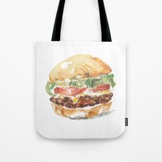 A burger Tote Bag