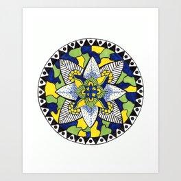 Mediteranean Plate Art Print