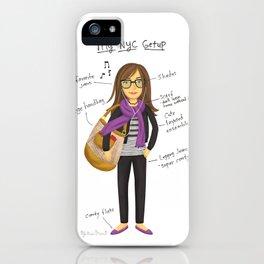 My New York City Getup! iPhone Case
