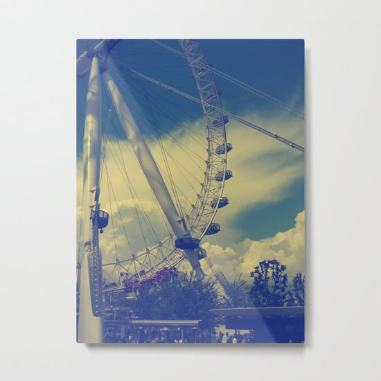 London Eye III Metal Print