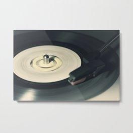 Vintage Vinyl Record 1 Metal Print
