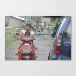 Bali People #2 Canvas Print