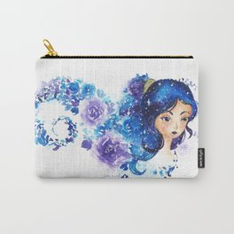 Galaxia Flora Carry-All Pouch