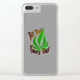 All Day Every Day Clear iPhone Case