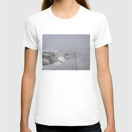 Snow is whiter on the other side T-shirt