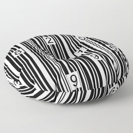 Barcode Floor Pillow