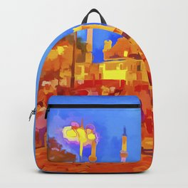Istanbul Pop Art Backpack