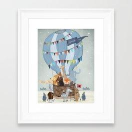 little adventure days Framed Art Print