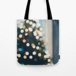 Xmas Tree Lights Tote Bag