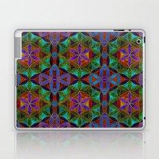 The Flower of Life (Sacred Geometry) 2 Laptop & iPad Skin
