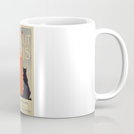 ABOUT PARIS VINTAGE POSTER Coffee Mug