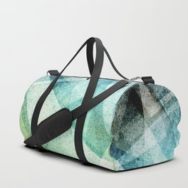 Geometric fractal Duffle Bag