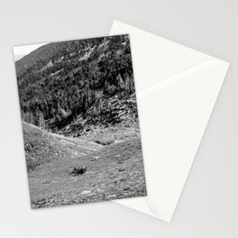 Backpack Travels in the French Pyrénées Stationery Cards