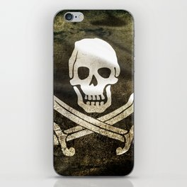 Pirate Skull in Cross Swords iPhone Skin