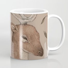 The Fallow Deer and Oats Coffee Mug