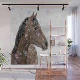 Magical Christmas Horse Wall Mural