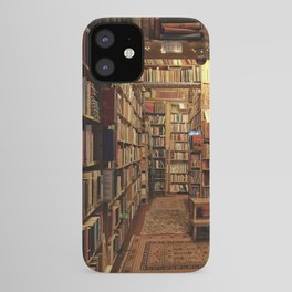 Warm & cozy bookshop in Scotland iPhone Case