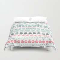 sewing Duvet Covers featuring Sewing by Heleen van Buul