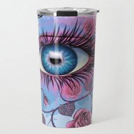 Floral Eye Travel Mug