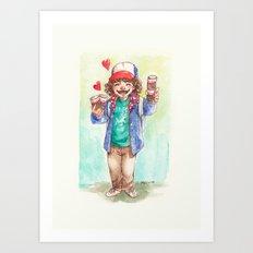 Stranger Kids - Dustin Art Print