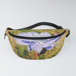 Chicory Flower Fanny Pack