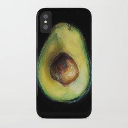 Brooke Figer - Avocado iPhone Case