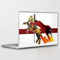 smaug Laptop & iPad Skins featuring Smaug by MarieJacquelyn