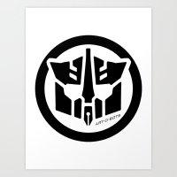 Art-O-Bots Art Print