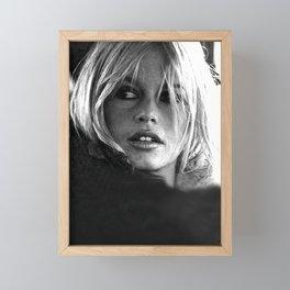 Brigitte Bardot Framed Mini Art Print