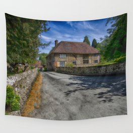 Church House Loose Wall Tapestry