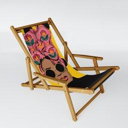 Black Beauty Sling Chair
