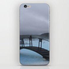 Iced Blue iPhone & iPod Skin