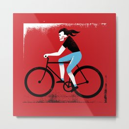 Ride or Die No. 2 Metal Print
