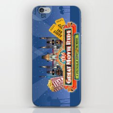 The Great Movie Ride iPhone Skin