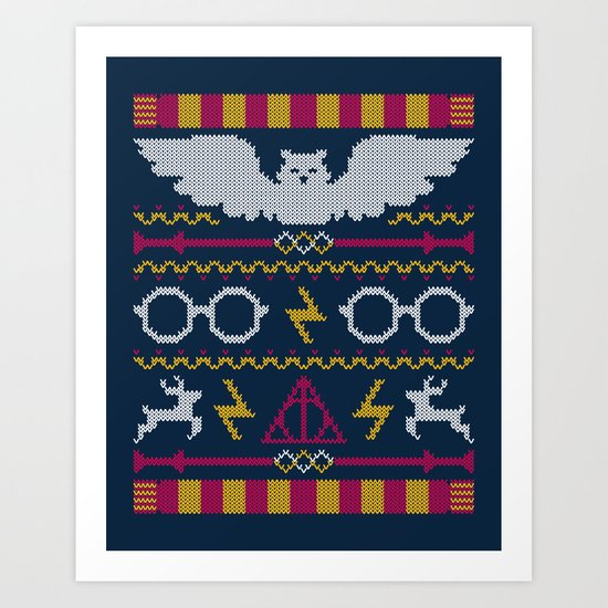 The Sweater That Lived Art Print