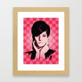 Barbra Streisand - Hello Gorgeous - Pop Art Framed Art Print