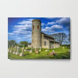 St Margarets Church  Norfolk Metal Print