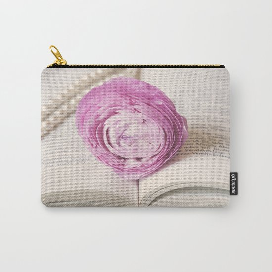 Bookmark Carry-All Pouch
