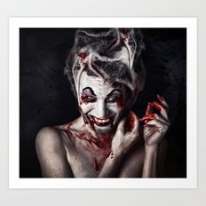 The Joker Has a Sister Art Print