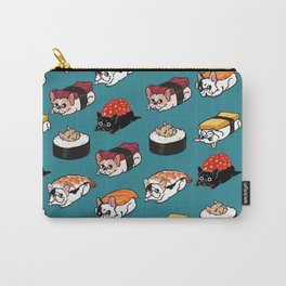 Sushi Frenchie Carry-All Pouch