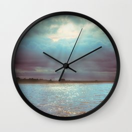 Across The Water Wall Clock