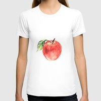 apple T-shirts featuring Apple by Anna Yudina