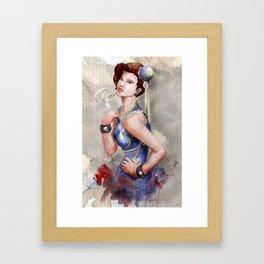Chun Li Framed Art Print