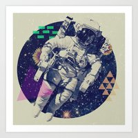 infinity Art Prints featuring INFINITY by Steven Kline
